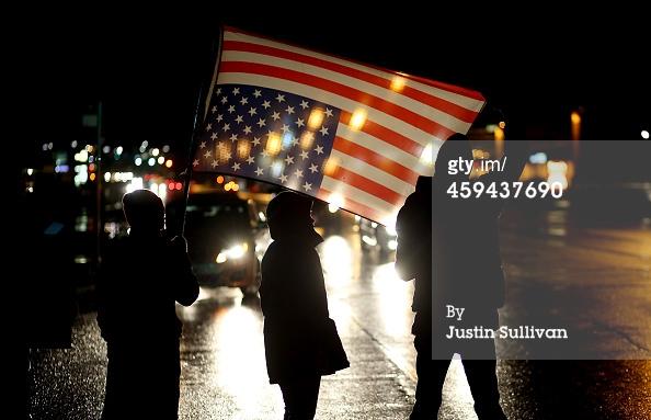 Flag Over Ferguson