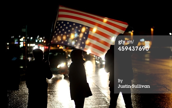 Flag Over Ferguson
