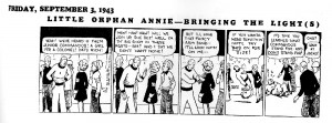 Orphan Annie Comic Strip via http://madinkbeard.com/archives/arf-the-life-and-times-of-little-orphan-annie-by-harold-gray